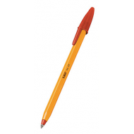 Bic Orange Fine Ballpoint Pen Red