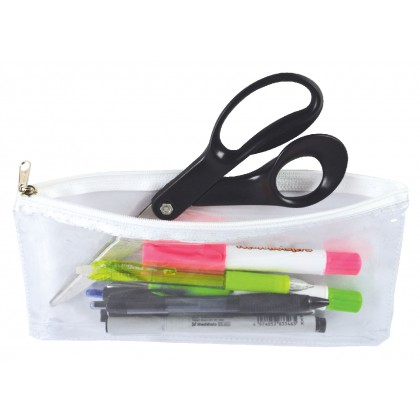 Bag It Clear Pencil Bag 22cm