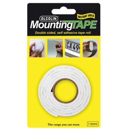 Alcolin Mounting Tape 1M Roll