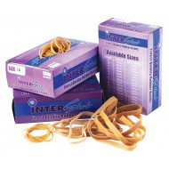 100g Rubber Bands Assorted Sizes