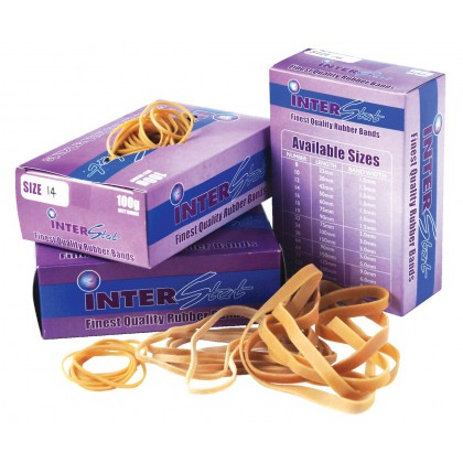 100g Rubber Bands Sizes No.14