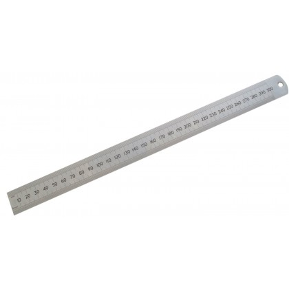 30cm Stainless Steel Ruler
