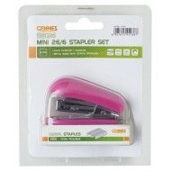 Genmes Mini Stapler & Staples