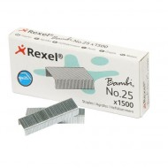 Rexel No.25 Staples (1500)