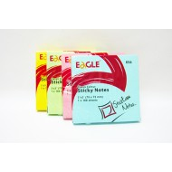 Eagle Sticky Notes 76 x 76mm Yellow