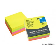 Info Note 75 x 75mm Bright Cube 320 Sheets