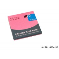 Info Note 75 x 75mm Bright Pink