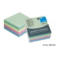 Info Note 75 x 75mm Pastel Cube