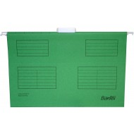 Bantex Foolscape Suspension Files 10's Green