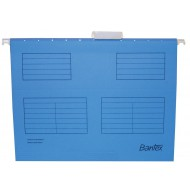 Bantex Foolscape Suspension Files 10's Blue