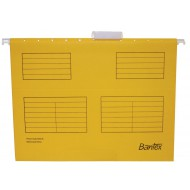 Bantex Foolscape Suspension Files 10's Yellow