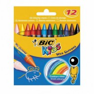 Bic Kids Wax Crayons 12's