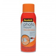 Scotch Photo Spray Mount Adhesive Permanent