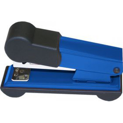 Bantex Half Strip Stapler Blue