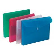 Bantex A4 Business Folder With Gusset Blue