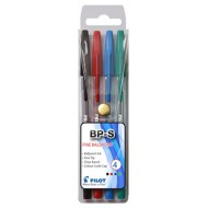 Pilot BP-S Fine Point Pen 4's