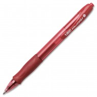 Bic Velocity Gel Ballpoint Pen Red