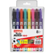 Luxor Twin CD/DVD Markers 8's
