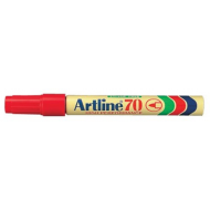 Artline EK70 Bullet Point Permanent Marker Red