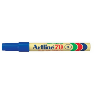 Artline EK70 Bullet Point Permanent Marker Blue