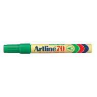 Artline EK70 Bullet Point Permanent Marker Green