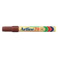 Artline EK70 Bullet Point Permanent Marker Brown