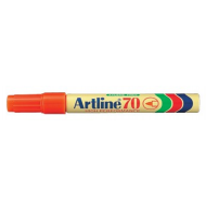Artline EK70 Bullet Point Permanent Marker Orange