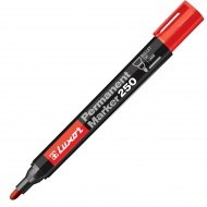 Luxor 250 Permanent Marker Red