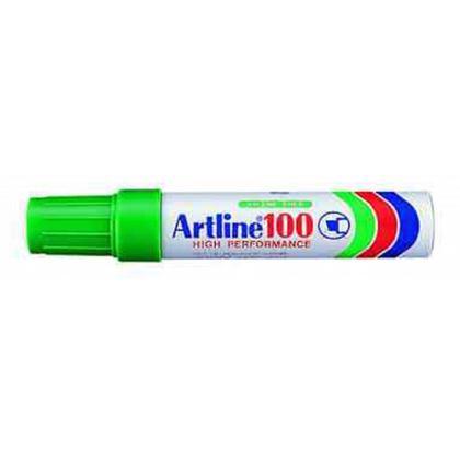 Artline EK100 Chisel Point Permanent Marker Green