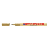Edding 780 Extra Fine Point Paint Marker Gold