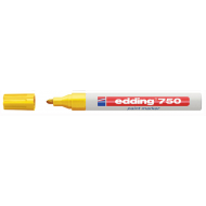 Edding 750 Medium Point Paint Marker Yellow