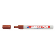 Edding 750 Medium Point Paint Marker Brown