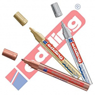Edding 750 Medium Point Paint Marker Silver