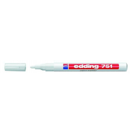 Edding 751 Fine Point Paint Marker White