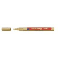 Edding 751 Fine Point Paint Marker Gold