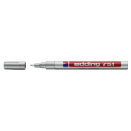 Edding 751 Fine Point Paint Marker Silver