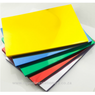 Foska A4 PVC Binding Cover Frosted Clear