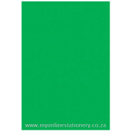 Nexx A4 160gsm Bright Board 100sheets Green