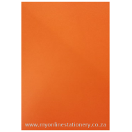 Nexx A4 160gsm Bright Board 100sheets Orange
