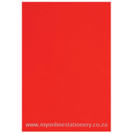 Nexx A4 160gsm Bright Board 100sheets Red