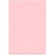 Nexx A4 160gsm Pastel Board 100sheets Pink