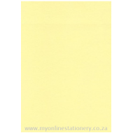Nexx A4 160gsm Pastel Board 100sheets Yellow