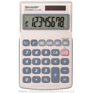 Sharp EL-240 8 Digit Handheld Calculator