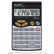 Sharp EL-480SB Business Calculator