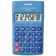 Casio HL-815L Handheld Calculator Blue