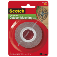 Scotch 3M Outdoor Mounting Tape 25.4mm x 1.5m