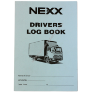 Nexx 40 Page Drivers Log Book