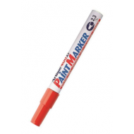 Artline EK400 Medium Point Paint Marker Red
