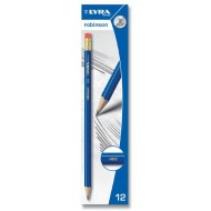Lyra Robinson Pencil HB With Erasers 12's