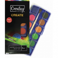 Croxley Create Watercolour Paint 12's